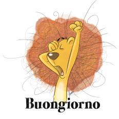Rossella piccini illustrazione leone bambini