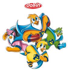 dolfin illustrazione rossella piccini