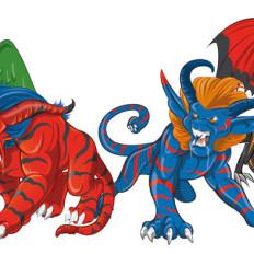 rossella piccini illustratrice illustrazione animaliens
