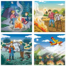 rossella piccini illustrazione fleurus pompieri