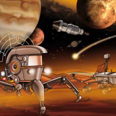rossella piccini illustrazione illustratrice carreforu spazio giochi
