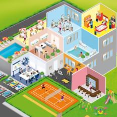 rossella piccini illustrazione scolasticahotel